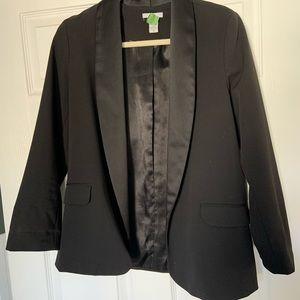 Bar III Black Blazer. Size Medium